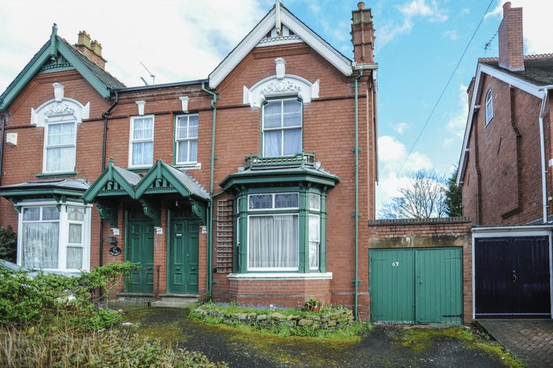 4 Bedrooms Semi Detached House for sale in Worcester Street, Stourbridge