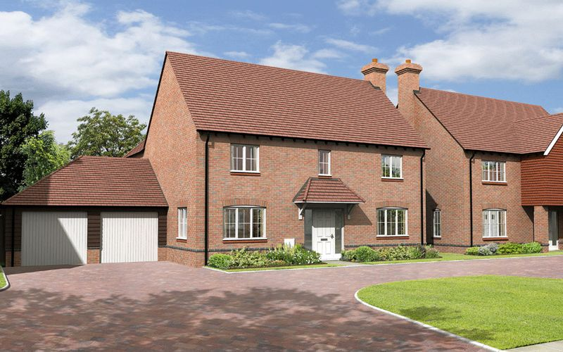 4 Bedrooms Detached House for sale in The Longford, Plot 19, The Portway , East Hendred