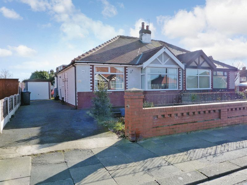 2 Bedrooms Semi Detached Bungalow for sale in Devonshire Avenue, Thornton Cleveleys