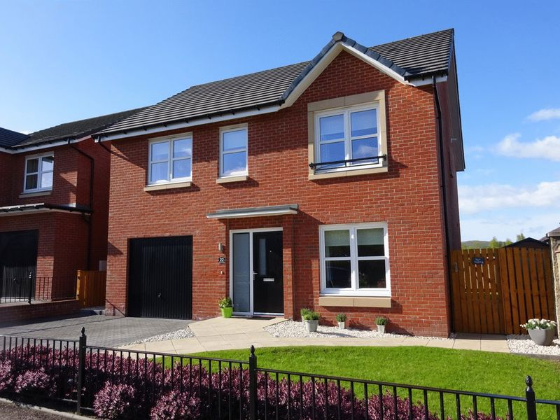 4 Bedrooms Detached House for sale in Almora Drive, Dumbarton