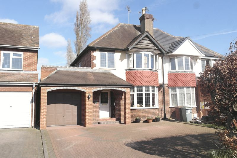 3 Bedrooms Semi Detached House for sale in Broadway West, Walsall