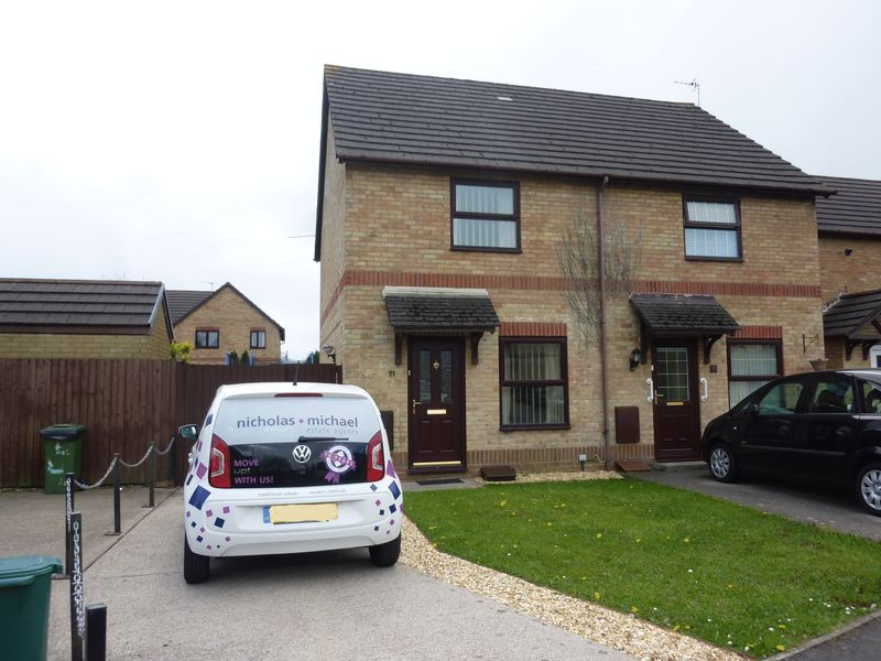 2 Bedrooms Semi Detached House for sale in Manor Chase, Beddau, CF38 2JE
