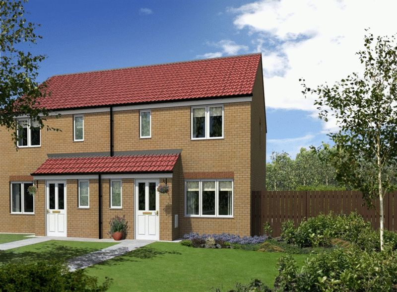 3 Bedrooms Semi Detached House for sale in Plot 31, The Hanbury at Emperor's Court, Mansfield, NG21 9FB