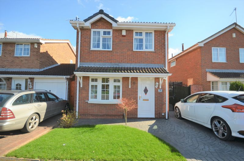 3 Bedrooms Detached House for sale in 28 Lancaster Way, Nottingham, NG8 6PH