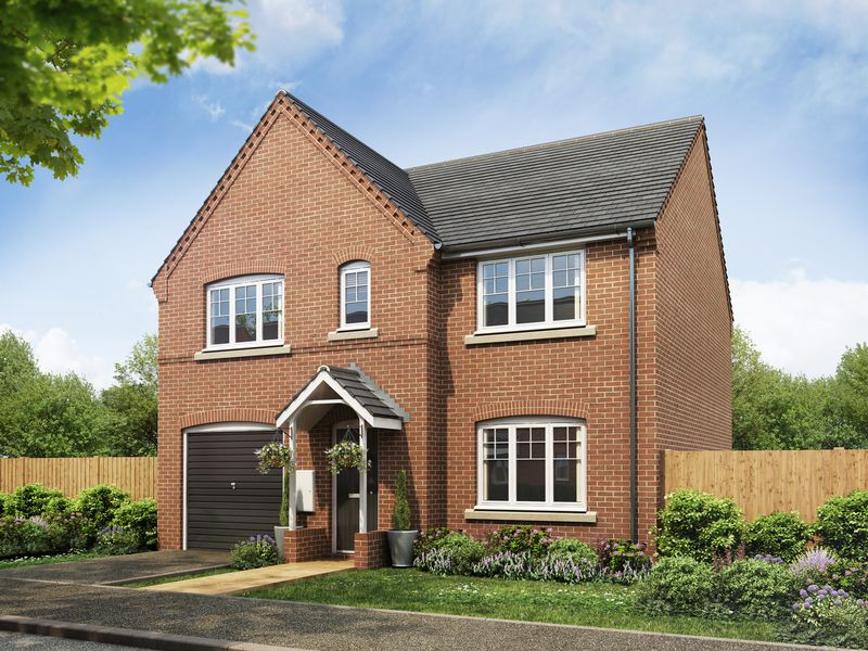 4 Bedrooms Detached House for sale in Plot 44, The Winster at Fairways Park, West Hill Road, Retford, DN22 7RT