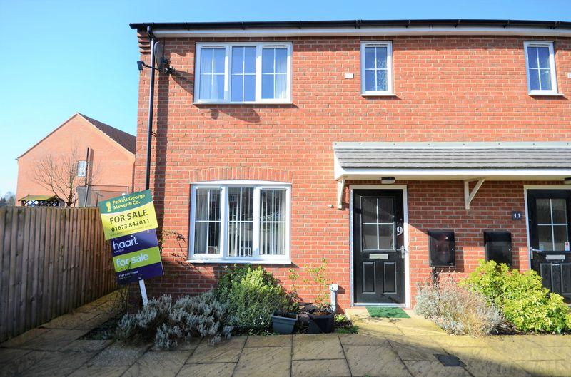 3 Bedrooms Terraced House for sale in 9 Moorhen Close, Market Rasen, LN8 3TW