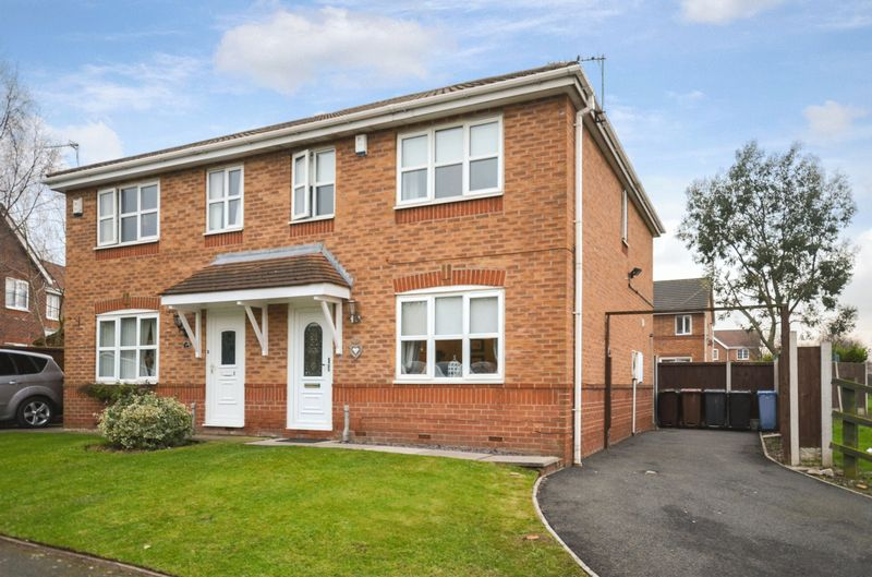 3 Bedrooms Semi Detached House for sale in 2 Caldywood Drive, Whiston, Prescot, L35 3XW