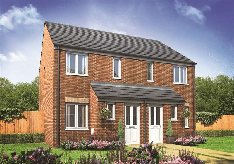 2 Bedrooms Semi Detached House for sale in Plot 43, The Alnwick at Emperor's Court, Mansfield, NG21 9FB