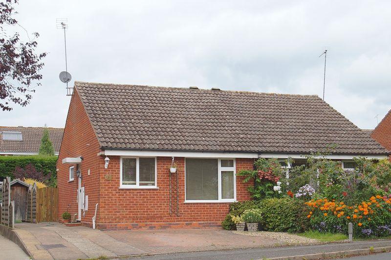 2 Bedrooms Semi Detached Bungalow for sale in Meriden Close, Winyates Green, Redditch, Worcestershire