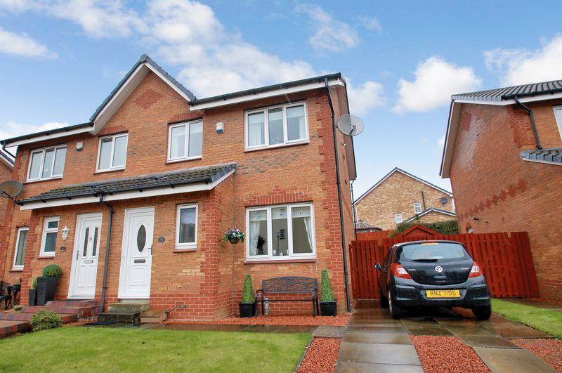 3 Bedrooms Semi Detached House for sale in Greenlady Walk, Lanark