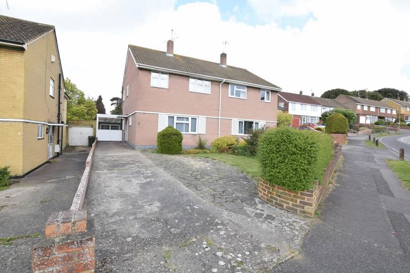 3 Bedrooms Semi Detached House for sale in Tudor Avenue, Maidstone, Kent ME14 5HH