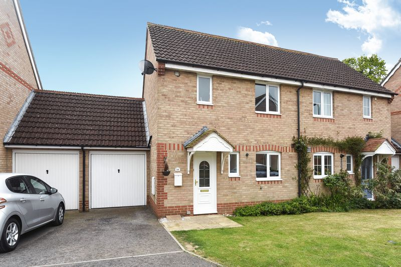 2 Bedrooms Semi Detached House for sale in Meadowsweet Close, Dunstan Park, Thatcham