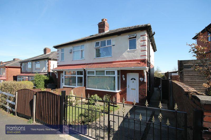 3 Bedrooms Semi Detached House for sale in Callis Road, Bolton, Lancashire.