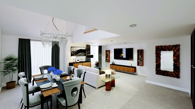 Typical Lounge & Dining Area