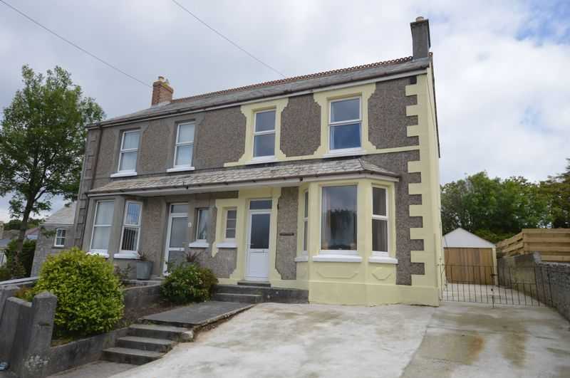 3 Bedrooms Semi Detached House for sale in Trelavour Road, St. Austell