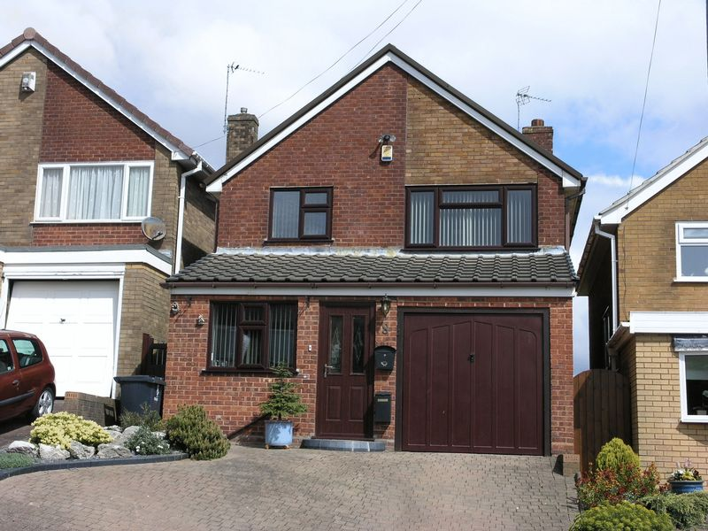 3 Bedrooms Detached House for sale in Denise Drive, Coseley, Bilston, West Midlands, WV14 9LG