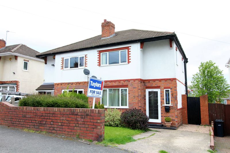 3 Bedrooms Semi Detached House for sale in Rounds Hill Road, Coseley
