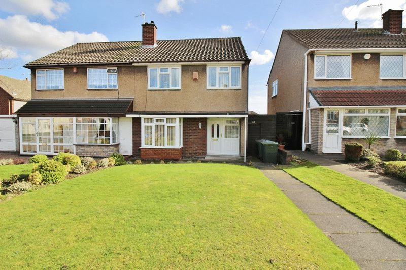3 Bedrooms Semi Detached House for sale in Stonehouse Crescent, Wednesbury