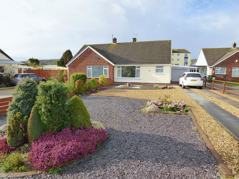 2 Bedrooms Semi Detached Bungalow for sale in Garsdale Road, Milton, Weston-Super-Mare