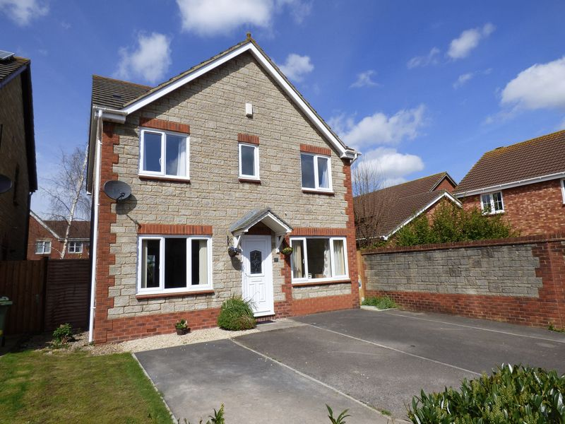 4 Bedrooms Detached House for sale in Aconite Close, Weston-s-Mare