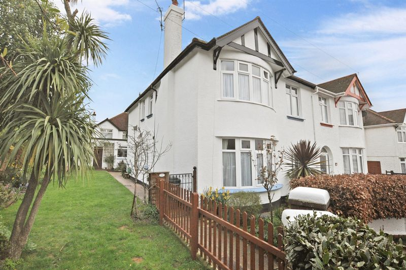 4 Bedrooms Semi Detached House for sale in Wilbarn Road, Paignton