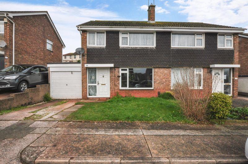 3 Bedrooms Semi Detached House for sale in Underidge Close, Paignton