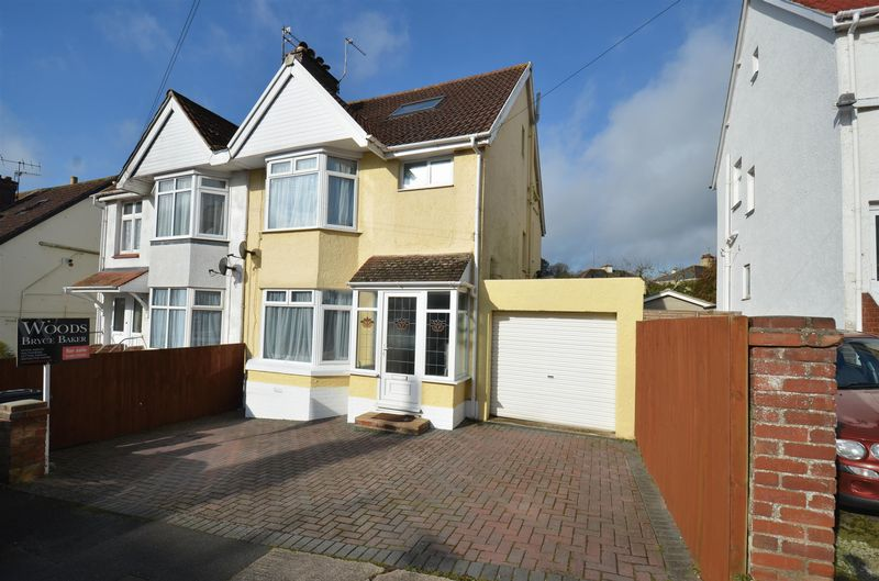 4 Bedrooms Semi Detached House for sale in Butland Avenue, Preston, Paignton