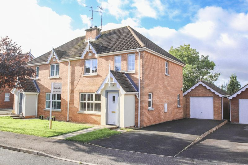 3 Bedrooms Semi Detached House for sale in 357 Kernan Hill Manor, Portadown