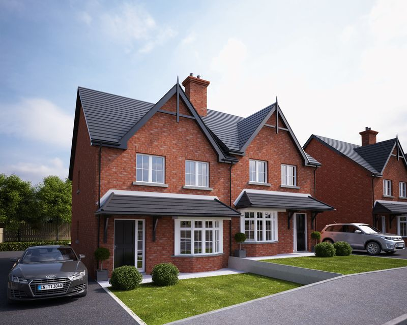 3 Bedrooms Semi Detached House for sale in Site 53 Lacehill Park, Portadown
