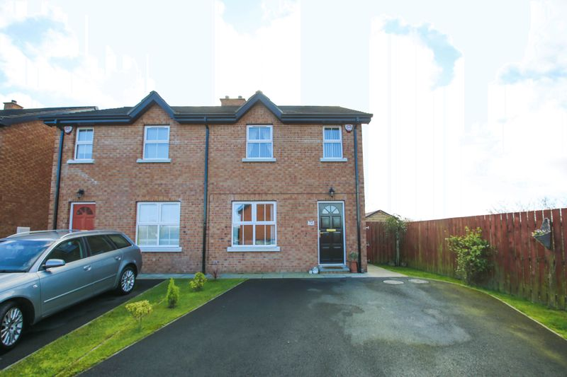 3 Bedrooms Semi Detached House for sale in 72 Baltylum Meadows, Portadown