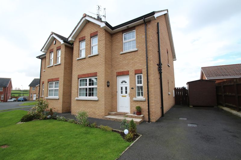 3 Bedrooms Semi Detached House for sale in 4 Timakeel Court, Portadown