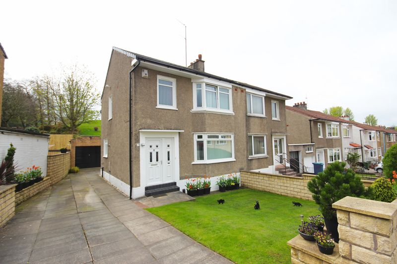 3 Bedrooms Semi Detached House for sale in Carna Drive, Simshill, Glasgow, G44 5BD