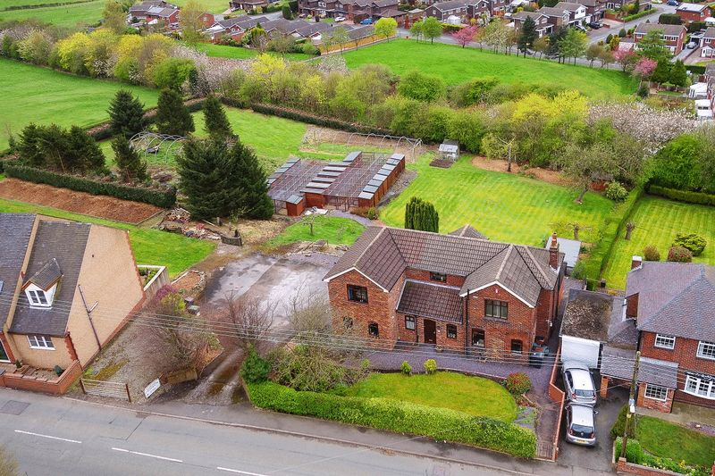4 Bedrooms Detached House for sale in Boon Hill Road, Bignall End
