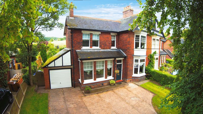 6 Bedrooms Semi Detached House for sale in Leek Road, Stockton Brook