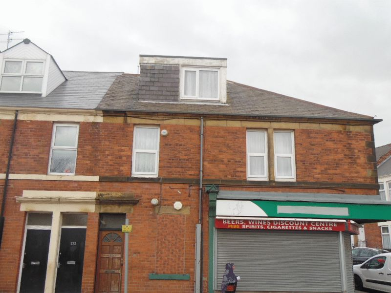 2 Bedrooms Flat for sale in Sunderland Road, Gateshead