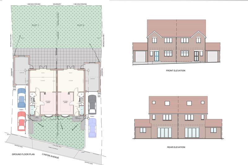 3 Bedrooms Semi Detached House for sale in Plot 1, Lynton Avenue, Wolverhampton