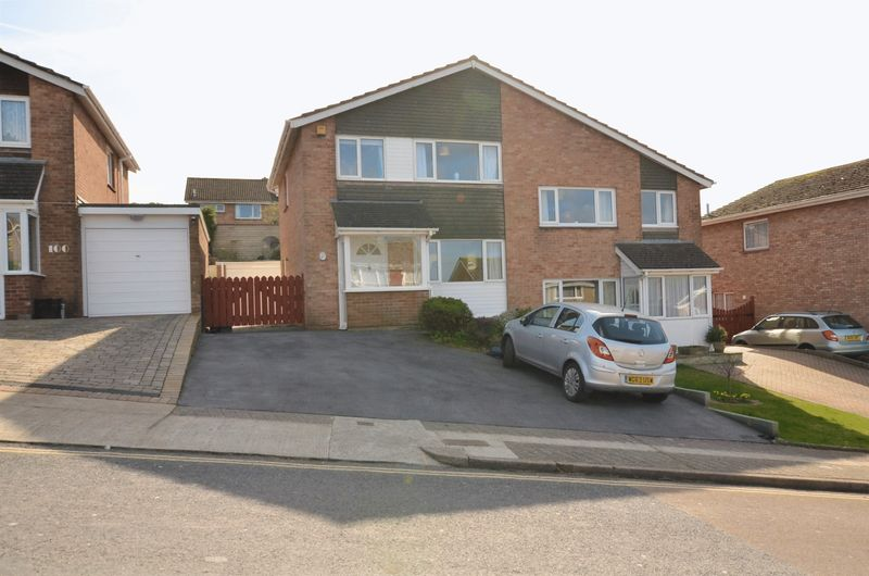 3 Bedrooms Semi Detached House for sale in ROSELANDS DRIVE, ROSELANDS, PAIGNTON.