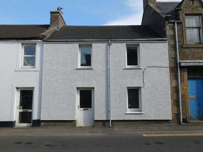 3 Bedrooms Terraced House for sale in Viewfirth, Main Street, Castletown, Thurso, Caithness, KW14 8TP