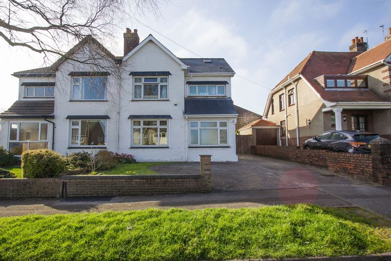 4 Bedrooms Semi Detached House for sale in Cornerswell Place, Penarth