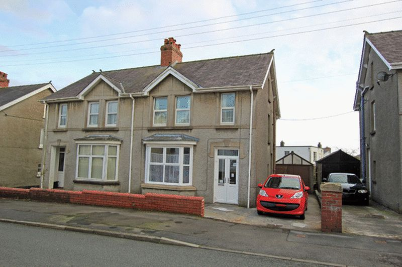3 Bedrooms Semi Detached House for sale in THE GROVE, CARMARTHEN