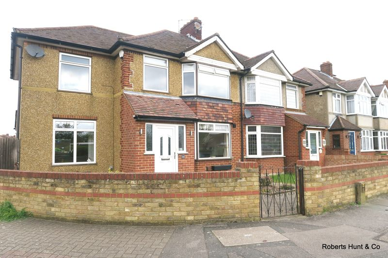 4 Bedrooms Semi Detached House for sale in Staines Road, Bedfont