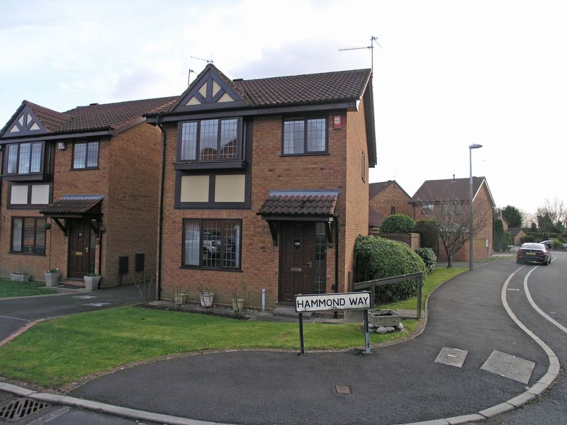 3 Bedrooms Detached House for sale in STOURBRIDGE, Cricketers Green, Hammond Way