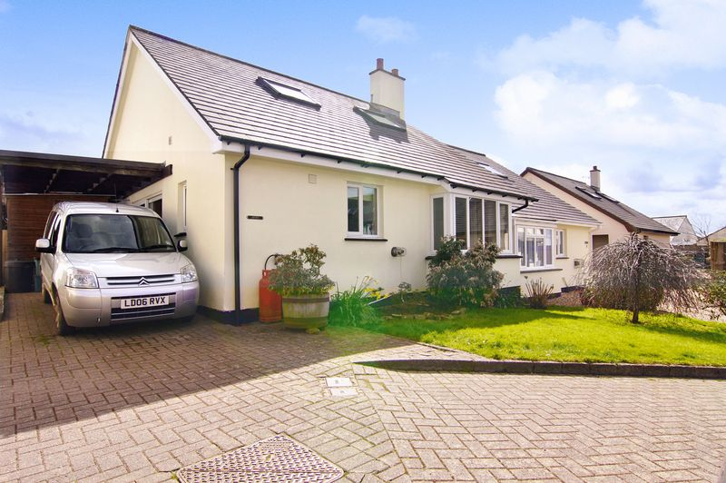3 Bedrooms Semi Detached Bungalow for sale in The Old Orchard, Northlew