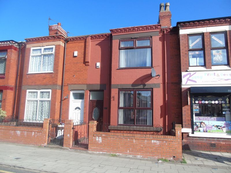 2 Bedrooms Terraced House for sale in Warrington Road, Prescot