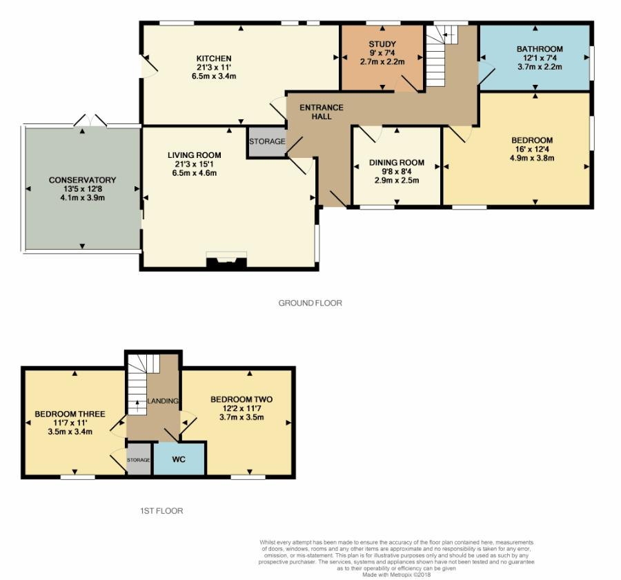 Reepham Road Floorplan