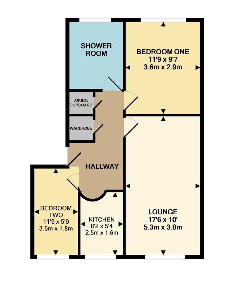 Roseville Close Floorplan