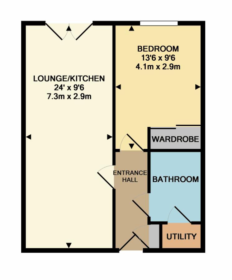 The Pavilion Floorplan