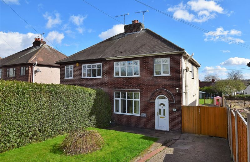 3 Bedrooms Semi Detached House for sale in Derby Road, Tupton