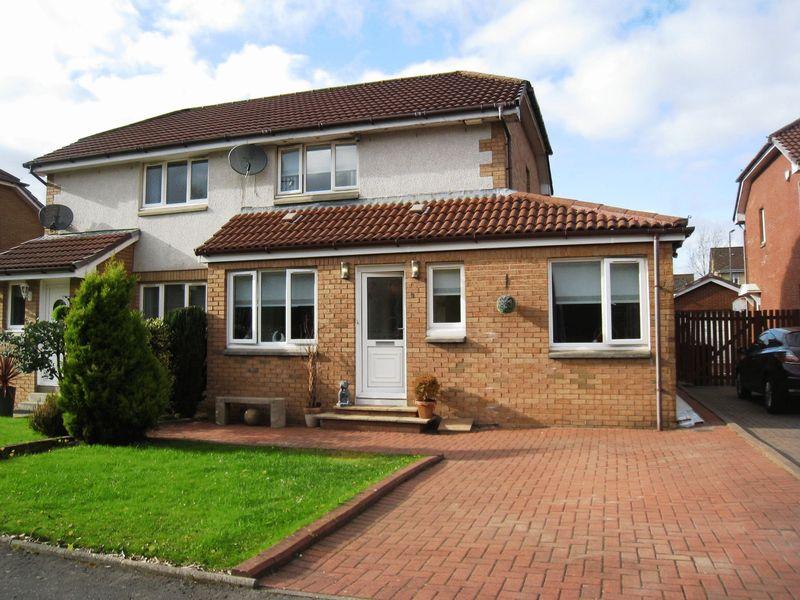 4 Bedrooms Semi Detached House for sale in Deanstone Place, Carnbroe, Coatbridge