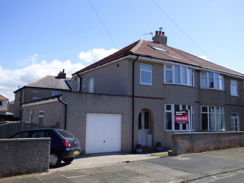3 Bedrooms Semi Detached House for sale in South Avenue, Morecambe